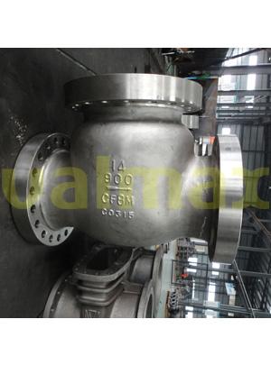 astm-a351-cf8m-check-valves-bs-1868-rf-flange-900-lb